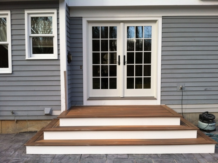 Cool Patio With Stairs From House Picture 554