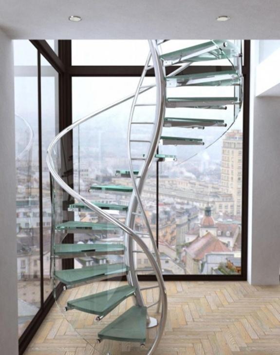 Cool Spiral Railing Design Picture 415
