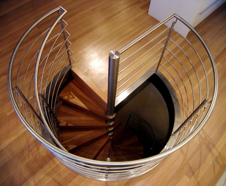Cool Spiral Staircase With Slide Picture 201
