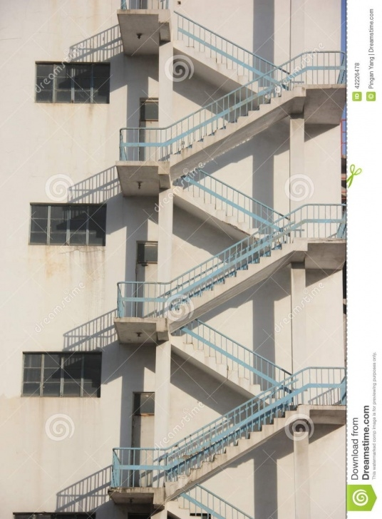 Cool Stair Outside Wall Design Image 626
