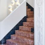 Cool Stair Outside Wall Design Photo 066