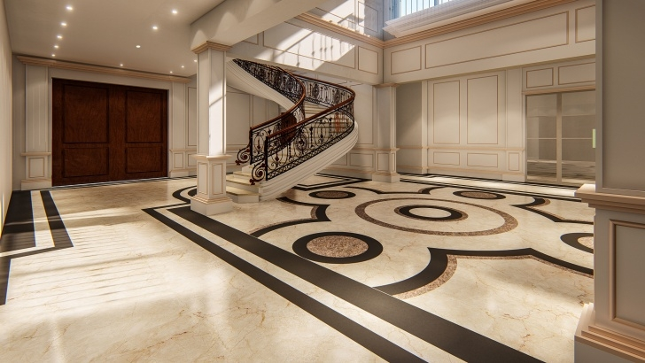 Cool Staircase 3D Design Photo 771