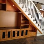 Cool Stairs With Cabinet Design Picture 261