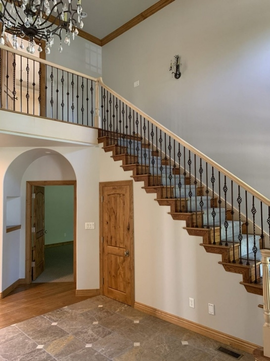 Cool Top Of Stairs Railing Photo 876