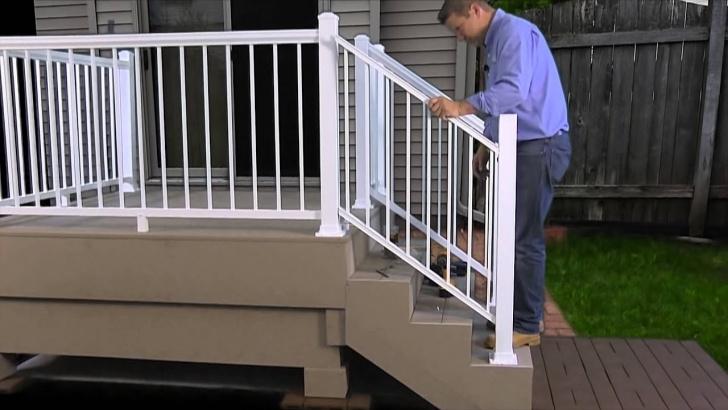 Creative Aluminum Handrails For Concrete Steps Picture 258