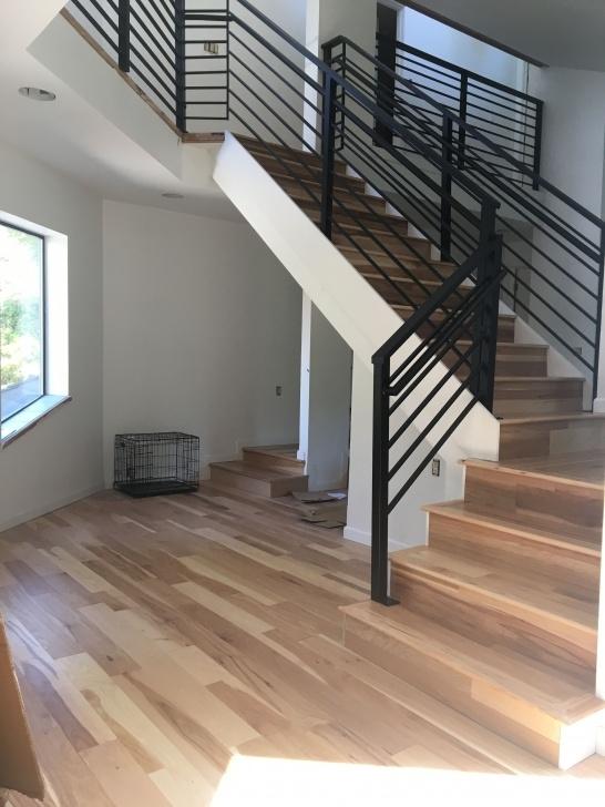 Creative Black Horizontal Stair Railing Image 131