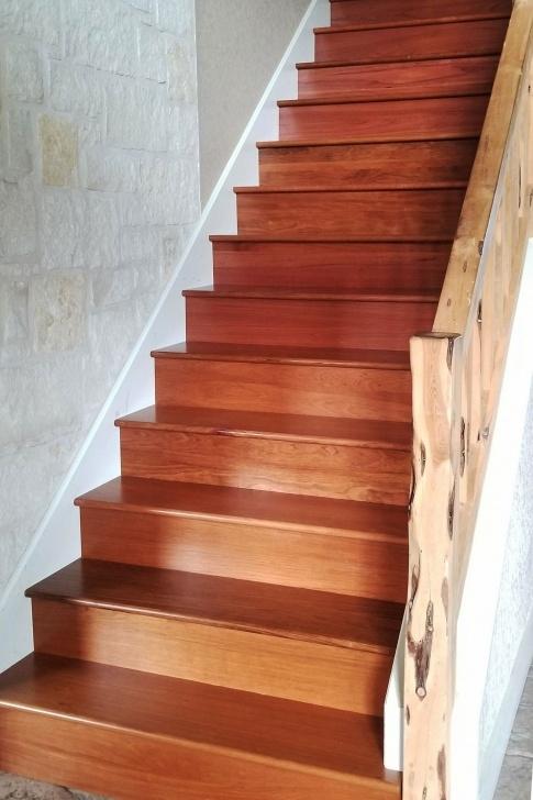 Creative Brazilian Cherry Stair Treads Photo 096