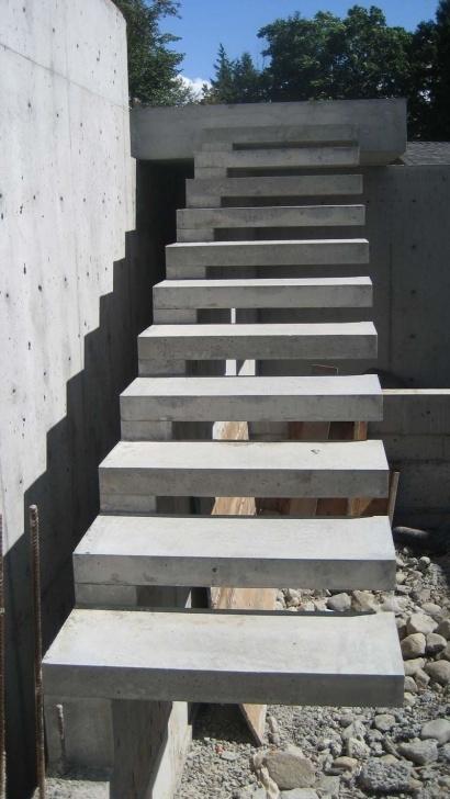 Creative Concrete Stairs Design Image 515