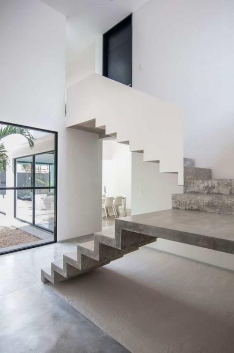 Creative Concrete Stairs Design Indoor Picture 479