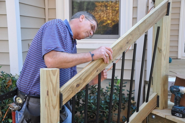 Creative Decking Steps Handrail Picture 677