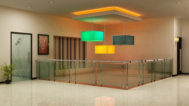 Creative False Ceiling Over Stairs Image 330