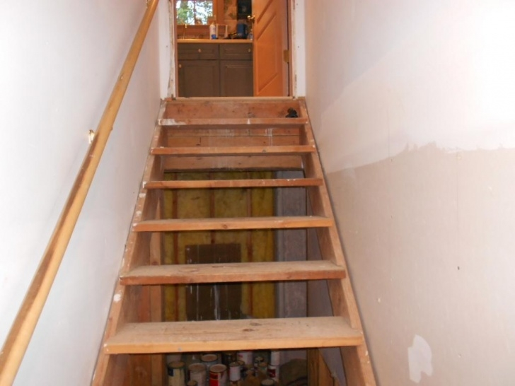 Creative Finishing Basement Stairs Photo 612