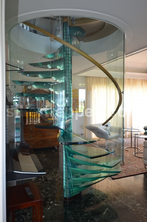 Creative Glass Spiral Staircase Picture 850