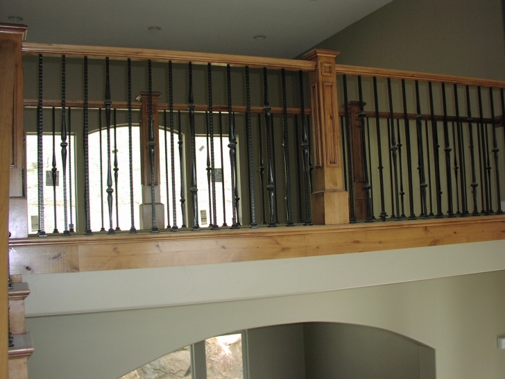 Creative Interior Balcony Railing Photo 068