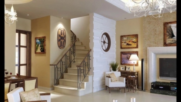Creative Interior Design Of Living Room With Stairs Picture 921