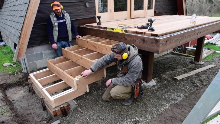 Creative Making Steps For Decking Photo 429