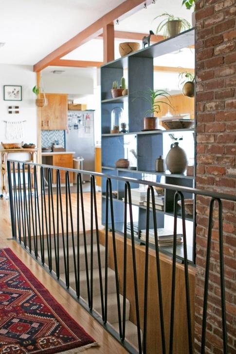 Creative Mid Century Modern Stair Railing Image 398