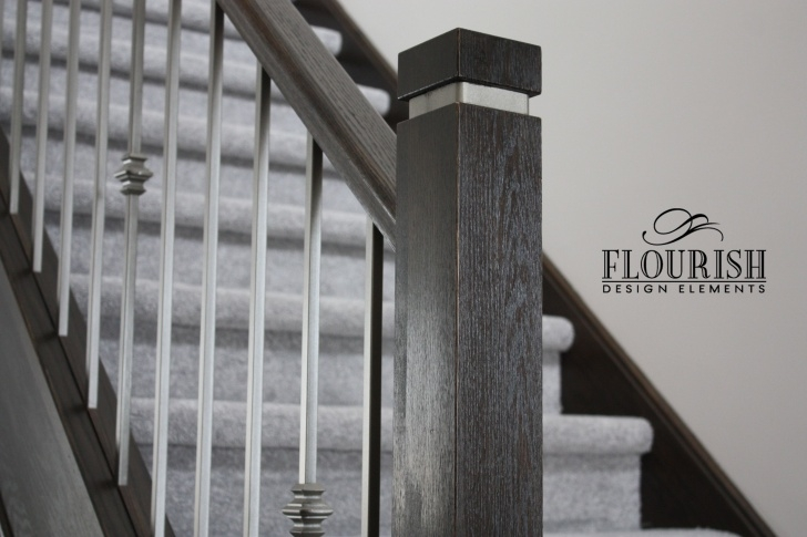 Creative Modern Newel Post Picture 499