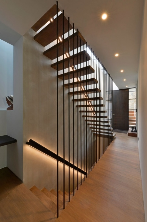 Creative Modern Wood Stair Railing Picture 220