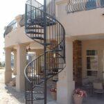 Creative Outdoor Circular Staircase Photo 467