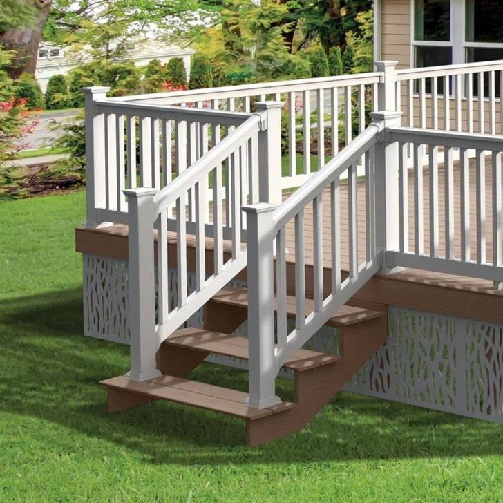 Creative Outdoor Stair Railing Lowes Image 698