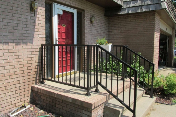 Creative Porch Handrails Metal Picture 874