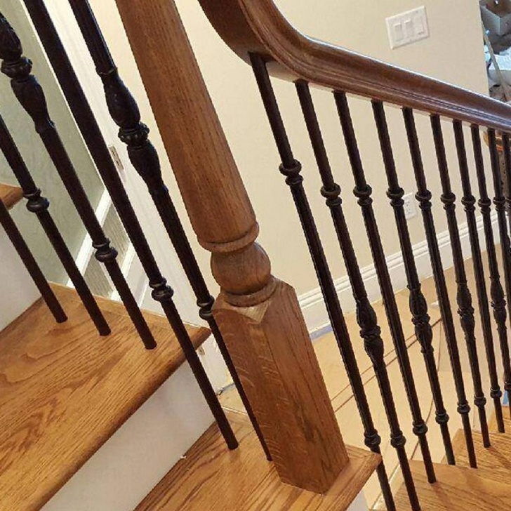 Creative Round Iron Balusters Picture 737