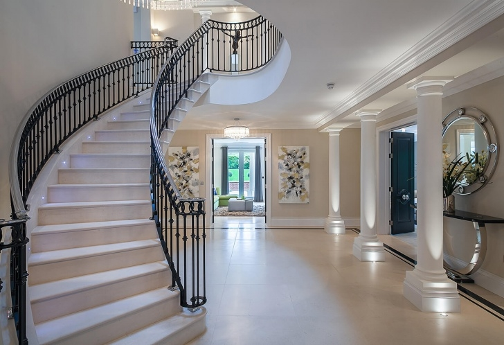 Creative Round Staircase Designs Interior Photo 088