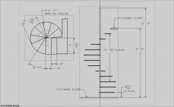 Creative Round Staircase House Plans Photo 529