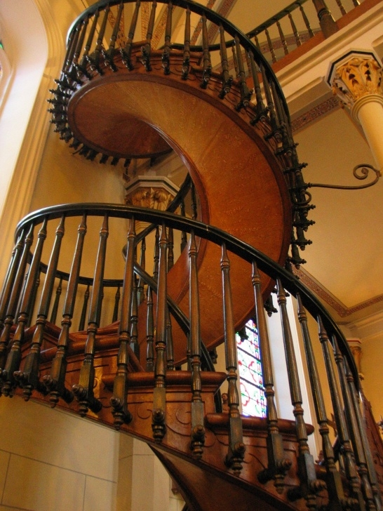 Creative Spiral Staircase Loretto Chapel Photo 202