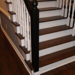 Creative Staining Stair Treads Picture 715