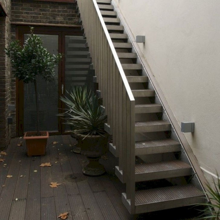 Creative Stairs Design Outside Home Picture 054