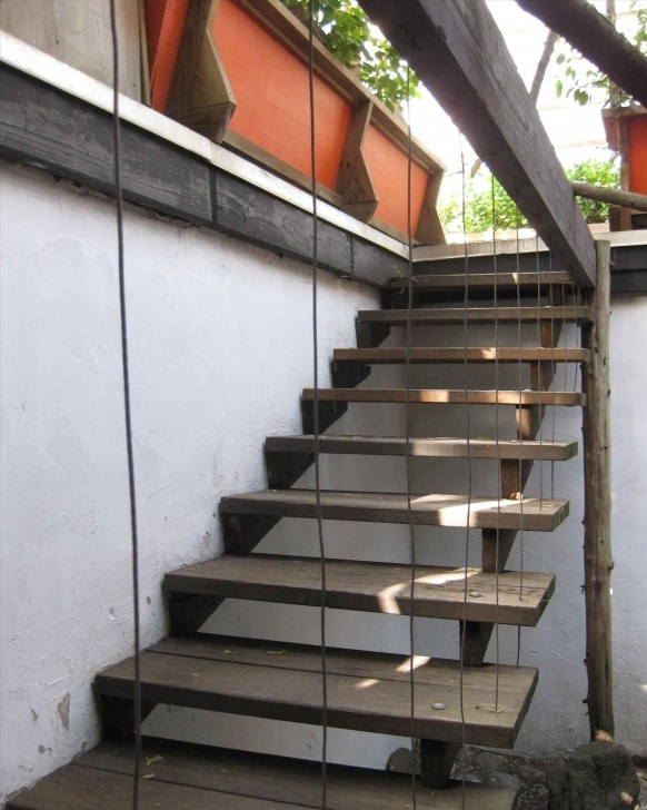 Creative Stairs Design Outside Home Picture 272