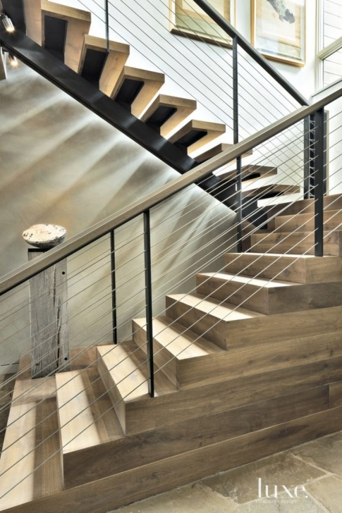Creative White Oak Stairs Image 918