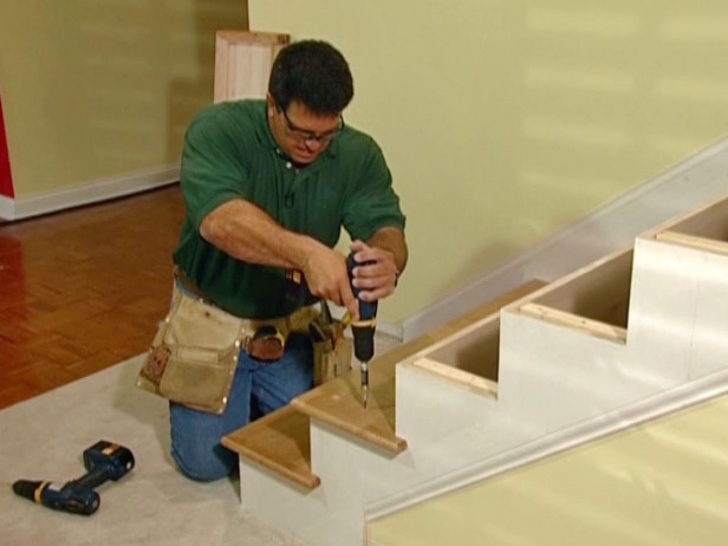 Creative Wood Stair Treads And Risers Photo 173