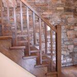Creative Wooden Stair Railings Indoor Photo 931
