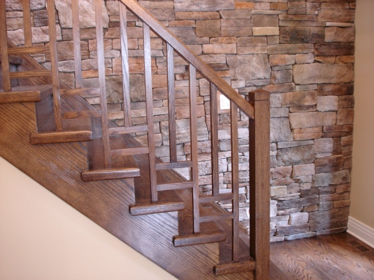 Creative Wooden Stair Railings Indoor Photo 931