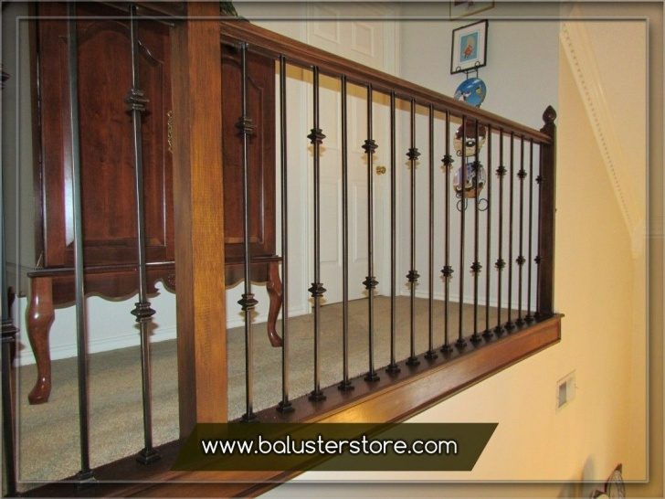 Creative Wrought Iron Stair Railings Interior Image 027