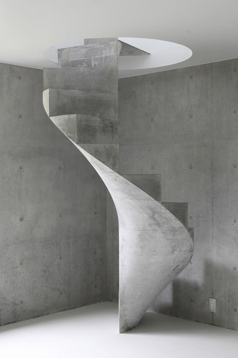 Easy Concrete Circular Staircase Picture 066
