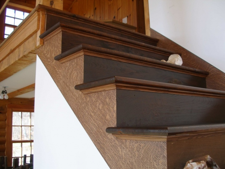 Easy Double Molding Stairs Photo 382