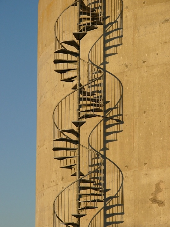Easy Double Spiral Staircase Image 533