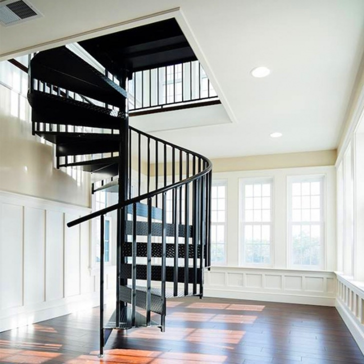 Easy Metal Spiral Staircase Photo 517