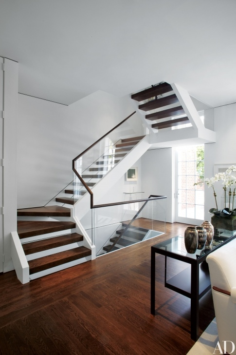 Easy Modern Staircase Design Photo 032