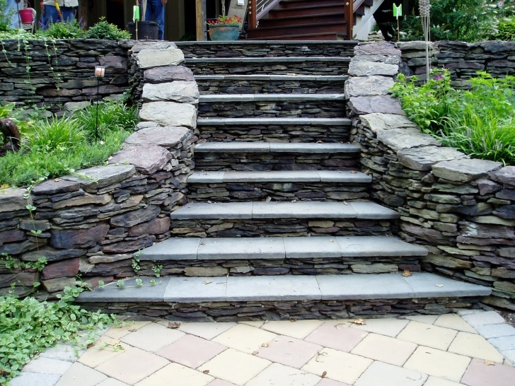 Easy Outdoor Stone Steps Picture 028