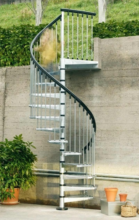 Easy Outside Spiral Staircase Picture 678