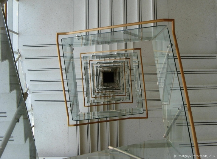 Easy Square Spiral Staircase Image 497