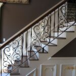 Easy Stairs Railing Designs In Iron Picture 742