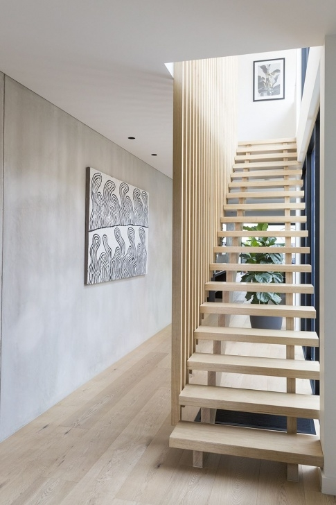 Easy Timber Staircase Design Photo 657