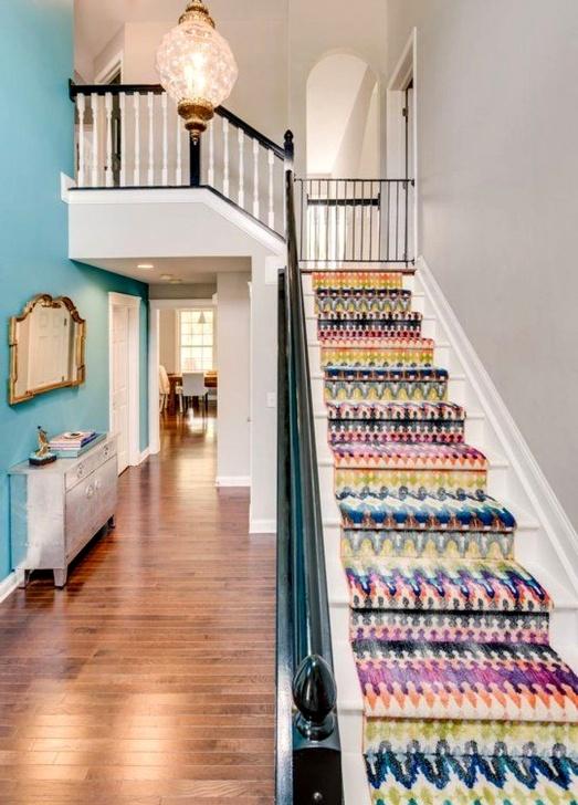 Easy Trendy Stair Carpet Image 932