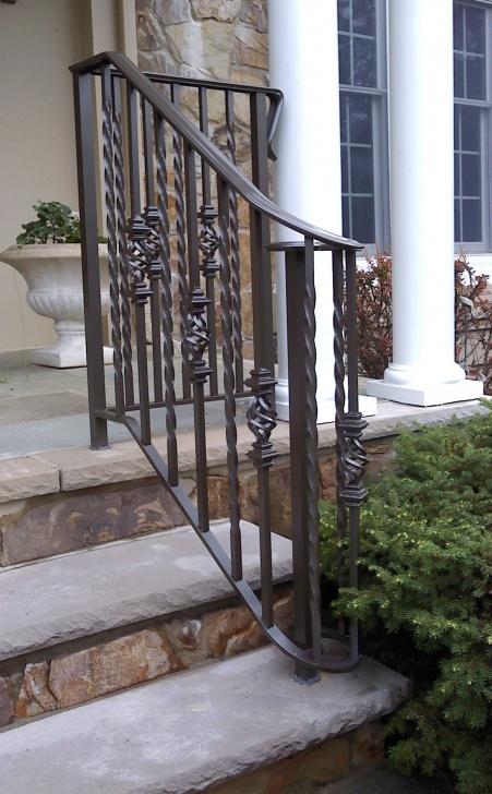 Fantastic Aluminum Outdoor Stair Railing Picture 238